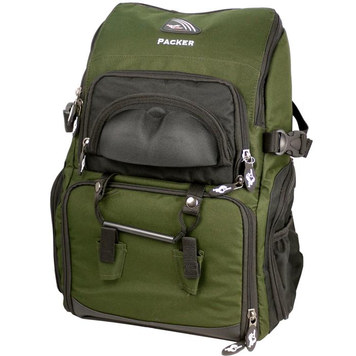 IRON-CLAW-Packer-inkl-4-Boxen-Angel-Rucksack-Tasche-Koffer-Angelkiste-gross-TOP