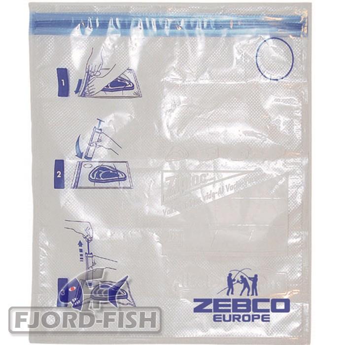 ZEBCO-5-STUCK-Vakuum-Gefrierbeutel-1l-System-Zip-Loc-Beutel-ohne-Verschweissen