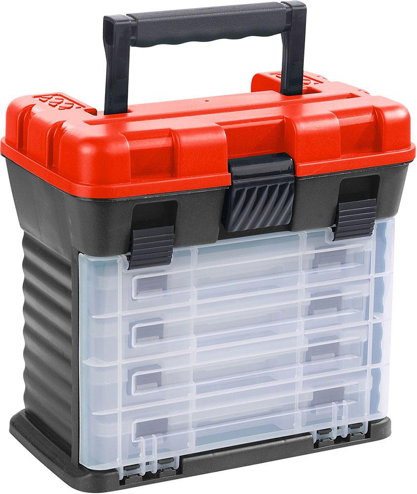 Balzer Shirasu Tackle Box XL 24 Fächer UV Schutz Variabele System Tacklebox NEW