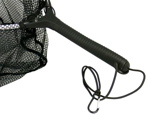 Jenzi watkescher strong gummizug karabiner kescher fliegenfischen